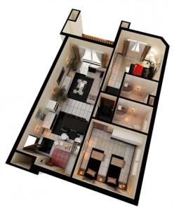 SinaiGolfF - 97,5 2 Bedrooms